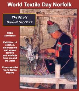 world textile poster
