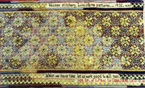 Mrs Foster Lindisfarne patterns From Gay Eaton: Wessex Stitchery