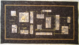 Final piece for City and Guilds: Tournus fragments Susan Rhodes